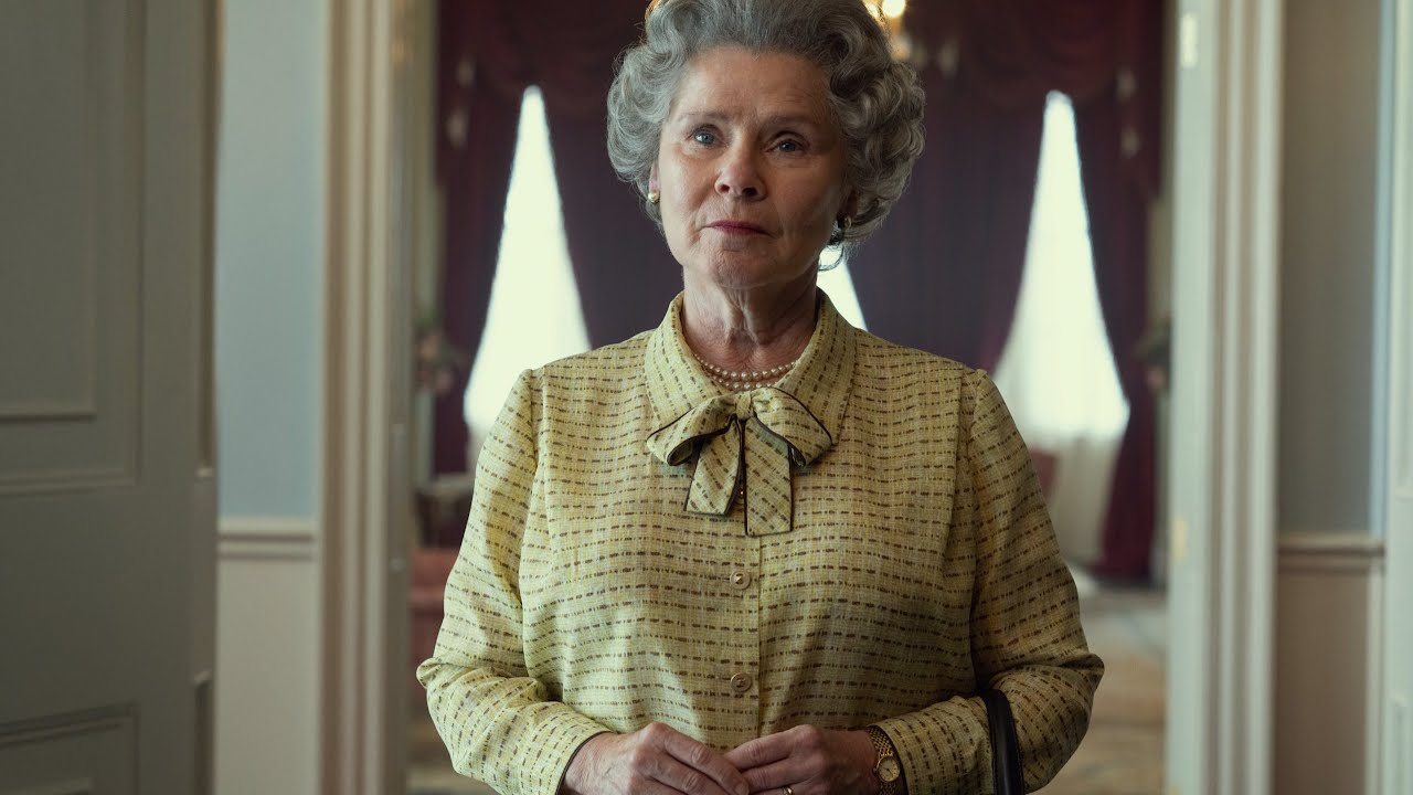 First photo released of The Crown's Imelda Staunton as Queen Elizabeth