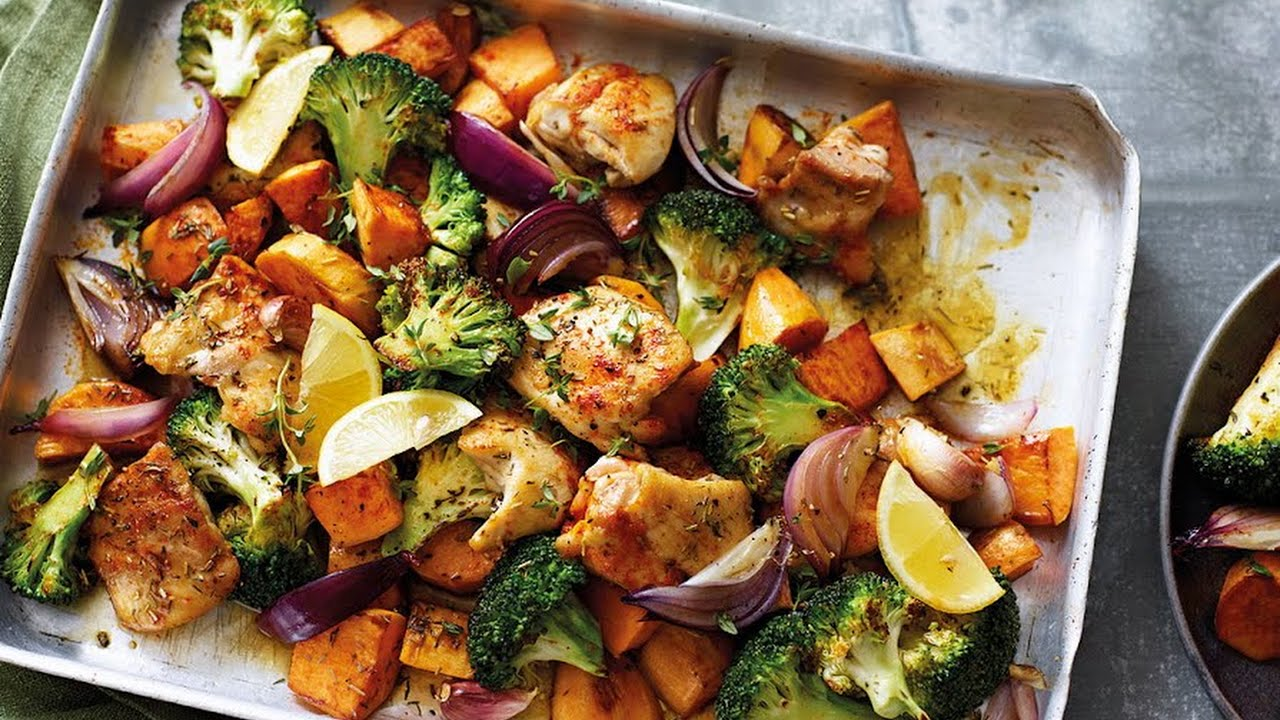 8 tasty traybake dinners you can throw in the oven with no fuss