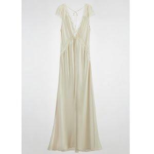 Zara Long Silk Dress, €129