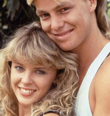 School memories: Kylie and Jason on Neighbours