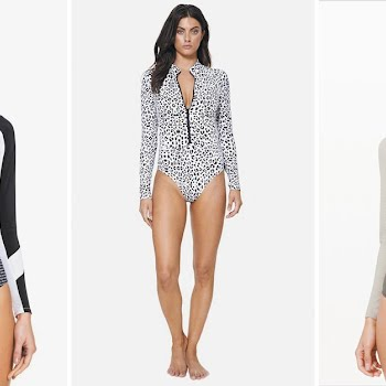 long-sleeved swimsuits