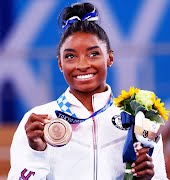 'I did it for me': Simone Biles triumphantly takes Bronze at Tokyo Olympics