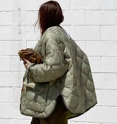 The quilted jacket is the staple to see you through winter