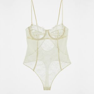 Zara Lace Bodysuit, €59.95