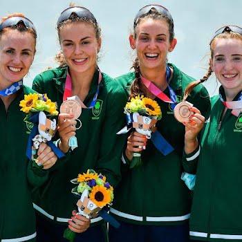 Irish womens rowers