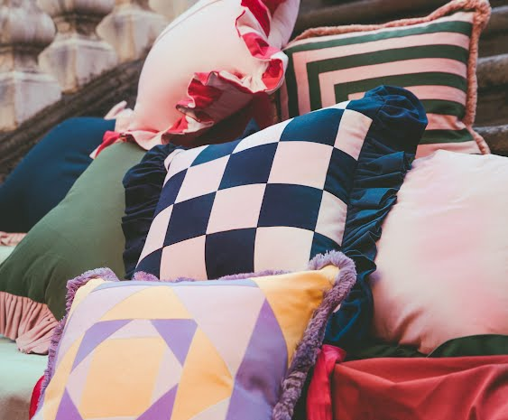 colourful cushions Ireland