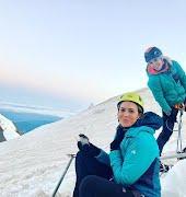 Mandy Moore climbed an active volcano at dawn… while pumping