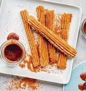 What to try this weekend: Gluten-free vegan churros with a caramel dipping sauce