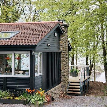 Irish lakeside house