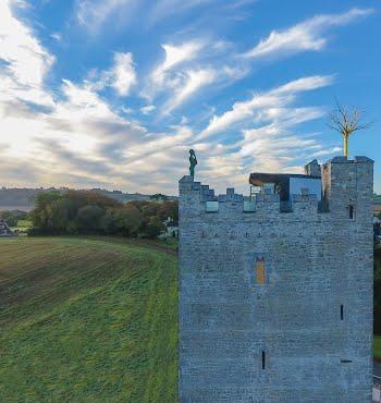 Irish sculptor Belvelly castle
