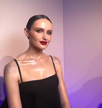 Model Maria Traynor after Patrick Ta masterclass