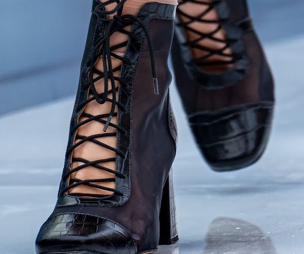 Victorian lace-up boots are *the* boots of the autumn