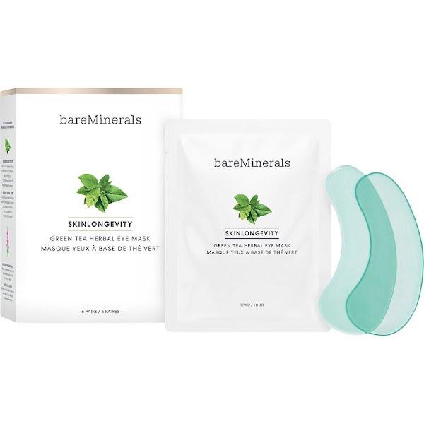 Bareminerals Skinlongevity Green Tea Herbal Eye Mask, €30.95